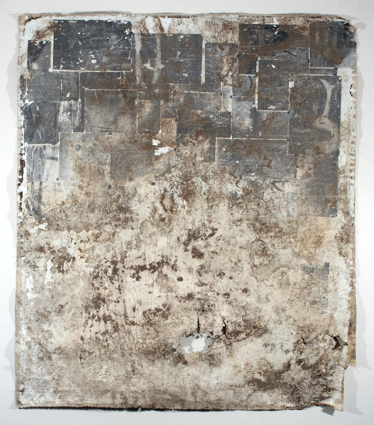 "Dirt in the Ground_50"" x 60"""